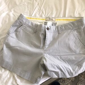 Gray khaki shorts